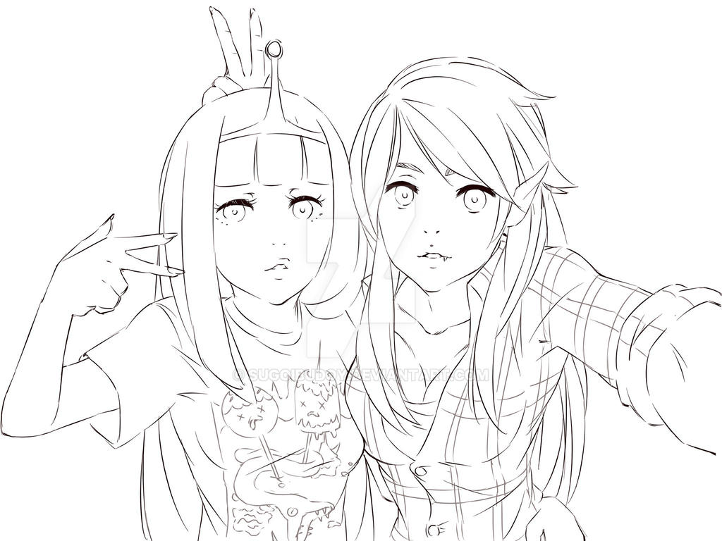 Update W I P Marcy And Bonnie Selfie By Sugoibudoy On