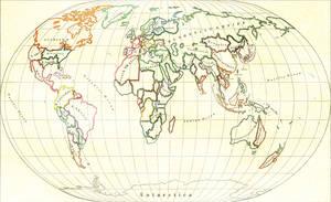Steamopera Map of the World by Naeddyr