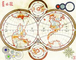 Ysi: Map of the World by Naeddyr