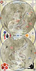 Ysi Earth Map II by Naeddyr