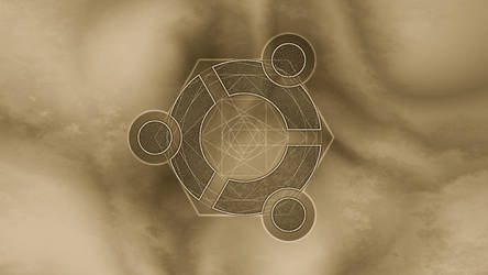 Ubuntu Magic Circle II wallp. by Naeddyr