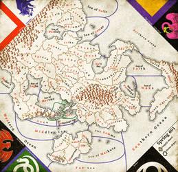 WIP Diplomacy map by Naeddyr