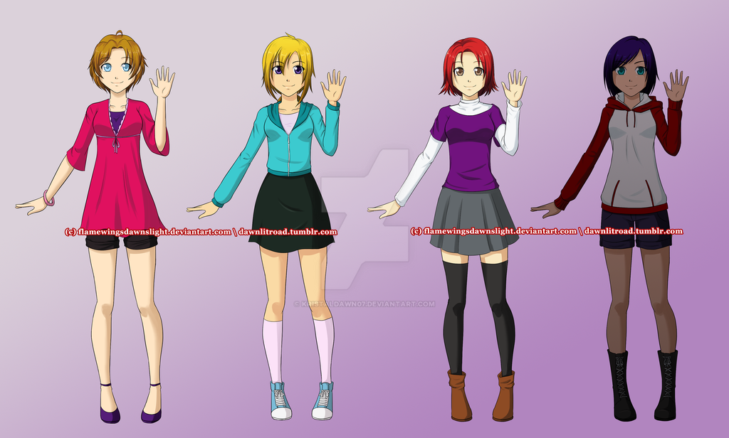 Adopts : Set 01 [OPEN] by KristalDawn07
