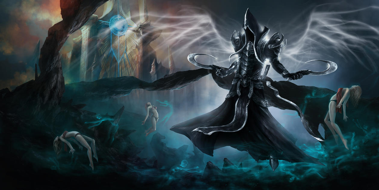 Malthael - Diablo3 Reaper of Souls by redin