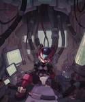 Megaman Zero - Hiding and Repairing...again. by tnguye3