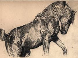 Horse by Myrrhiam