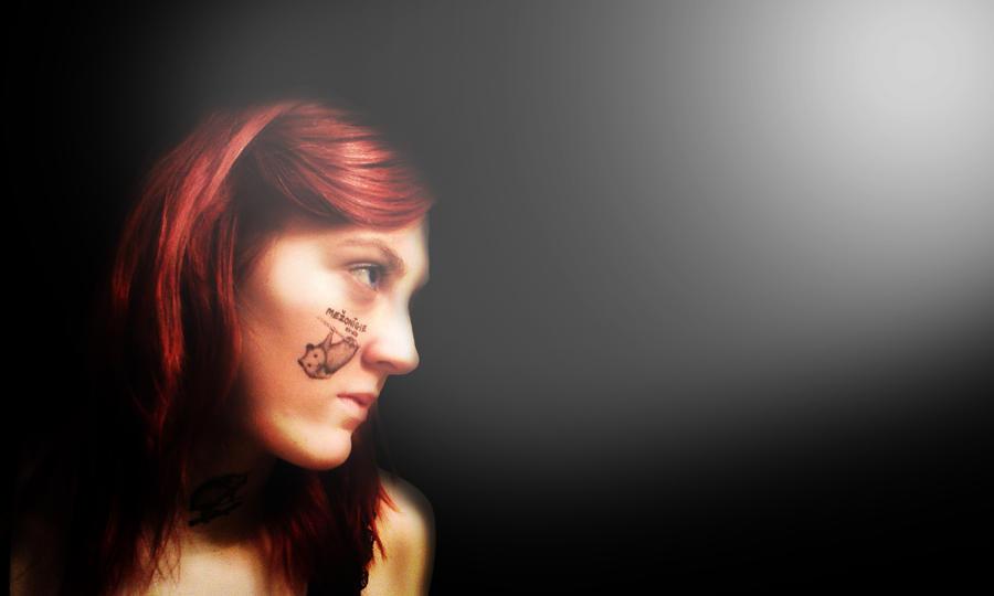 Wallpaper - cute hamster tattoo girl by RafixNFD on DeviantArt