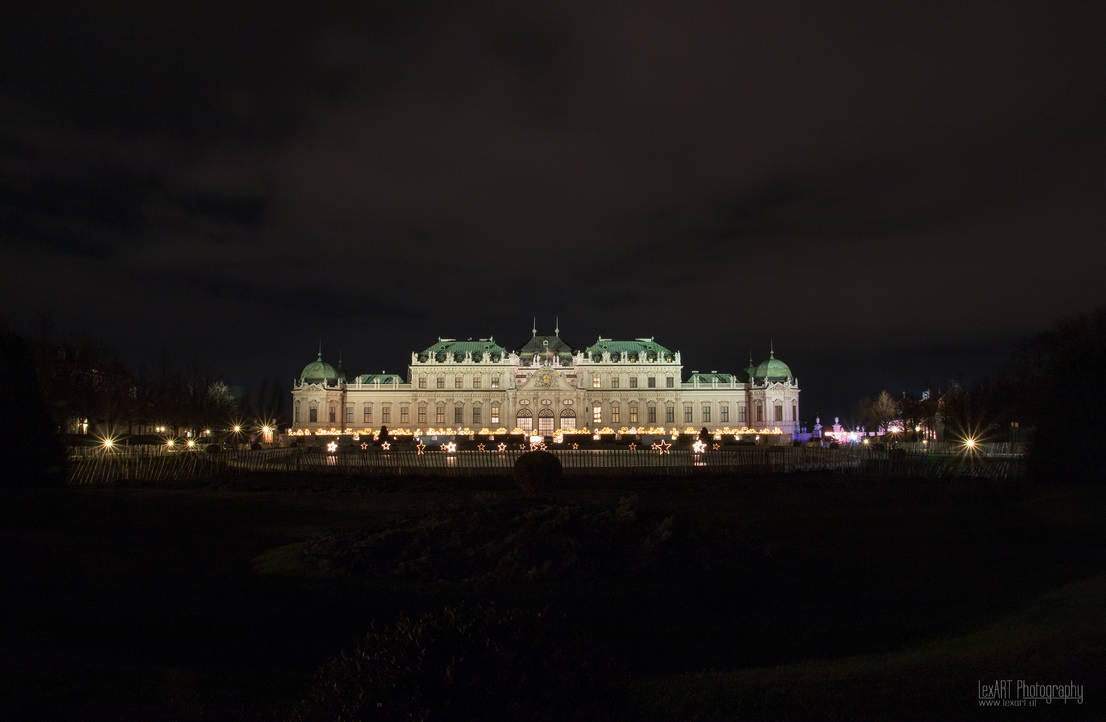 Schloss Belvedere - XMas #1 by LexartPhotos