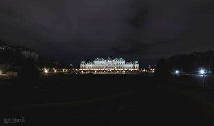 Schloss Belvedere - XMas #2 by LexartPhotos