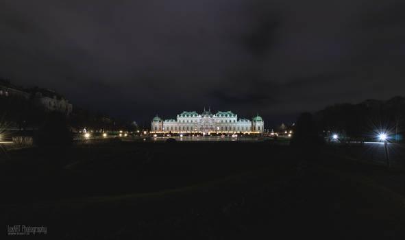 Schloss Belvedere - XMas #2 by LexartPhotos