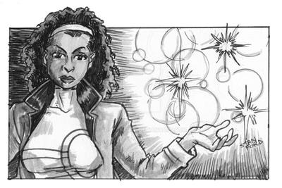 Alphababes Monica Rambeau by jdstanford