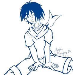 Blue Adolescent