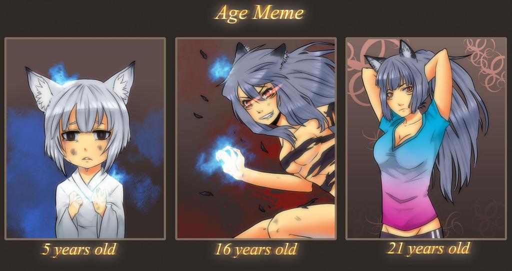Age Meme - Aki by KaiMatsuoka