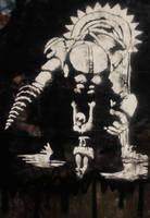 Bioshock Stencil by AbsurdPossum