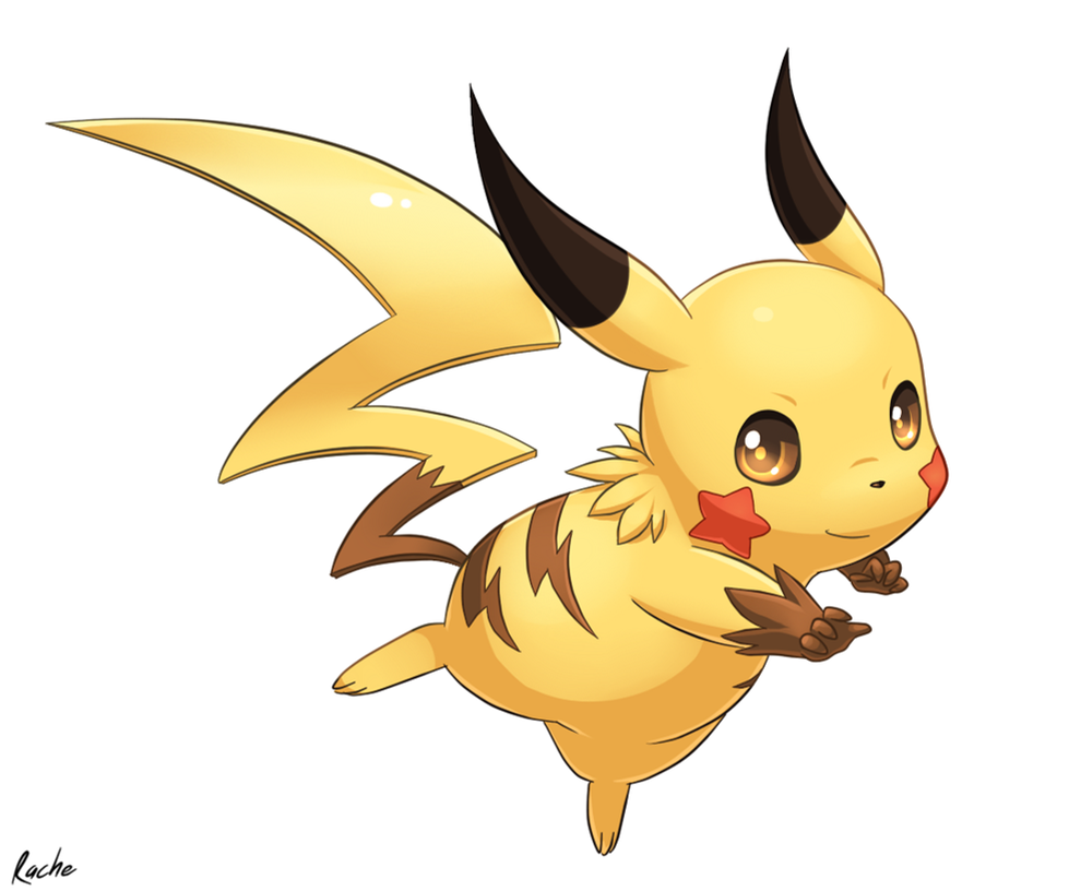 how to draw mega pikachu y