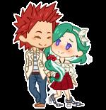 [CM] Bakawomans Mini Chibi-Couple by KamisAdopts