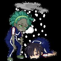 [CM] Klexenia Regular Chibi-Couple by KamisAdopts