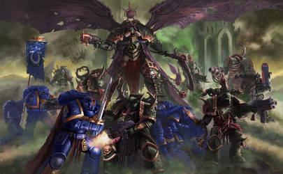 Warhammer 40,000 Fun Art