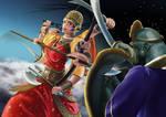 Batalla de Durga y Mahishasura