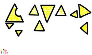 Tipografia de triangulos