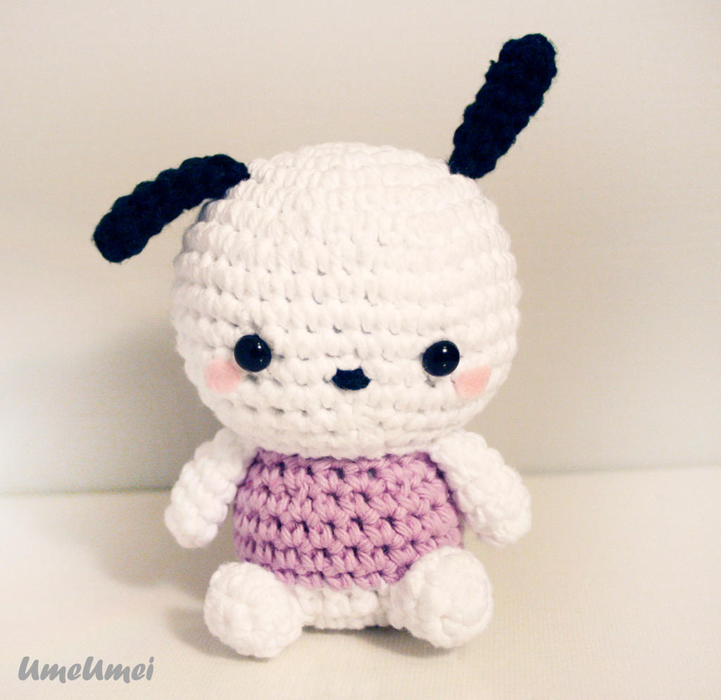 Pochacco Amigurumi Doll by umeumei on DeviantArt