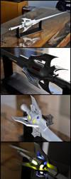 Wooden sword No 9, Myrtenaster by Il-Gritz