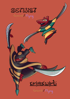 Pokemon Concept #49 - Setwist and Crimswirl