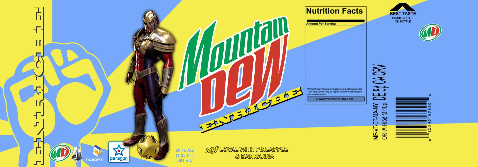 Mountain Dew Enriche by CMKook-24601 on DeviantArt