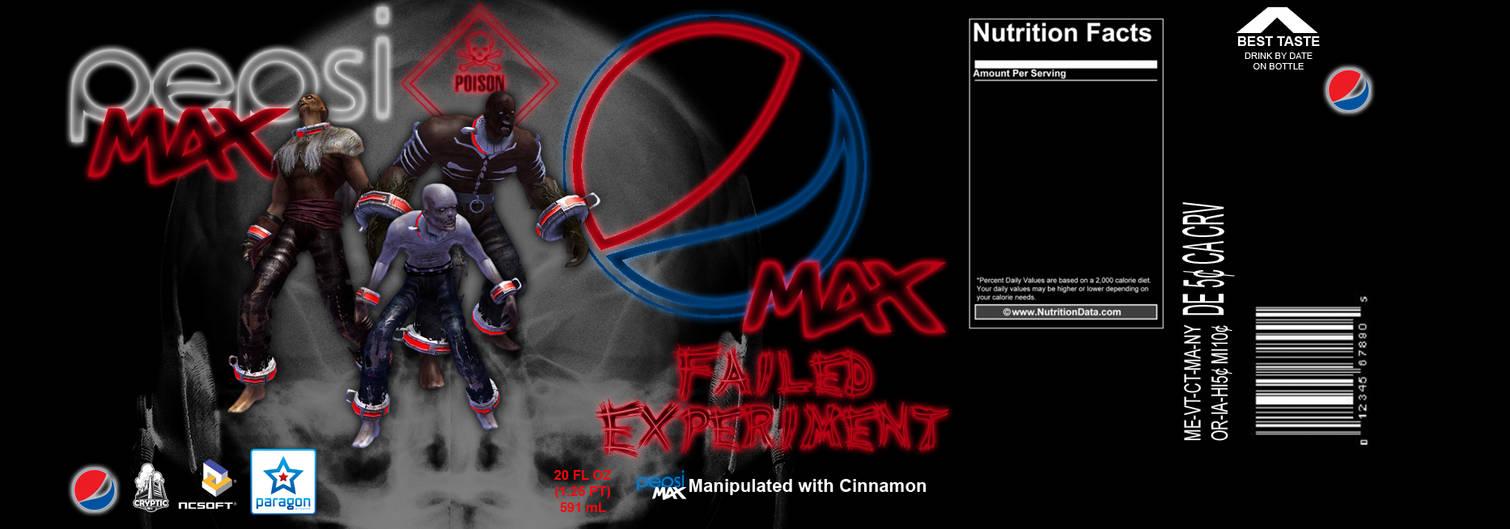 Pepsi Max Failed Experiment by CMKook