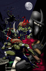 tmnt cover by WyA Colored (Red Masks)