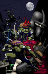 tmnt cover by WyA colored