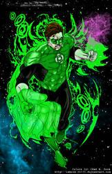 green lantern by joeprado (Colored)