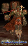 Armor of Mukantagara: Ancient Warrior of the Sands