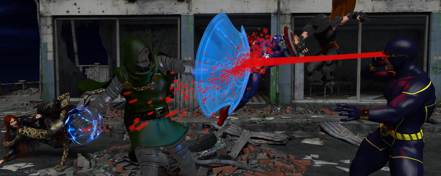 Heroes Vs. Villains Plus2 game round2 by CMKook-24601