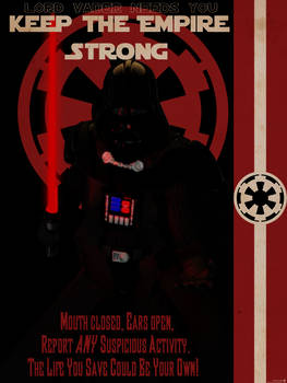 Keep the Empire Strong (WWII style Poster)