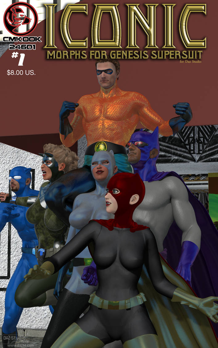 Iconic Morphs for Genesis Super Suit