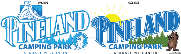 Pine Land Logo Redsign