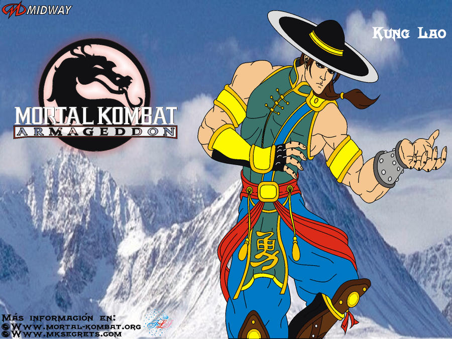 mortal kombat wallpaper kung lao. mortal kombat wallpaper kung
