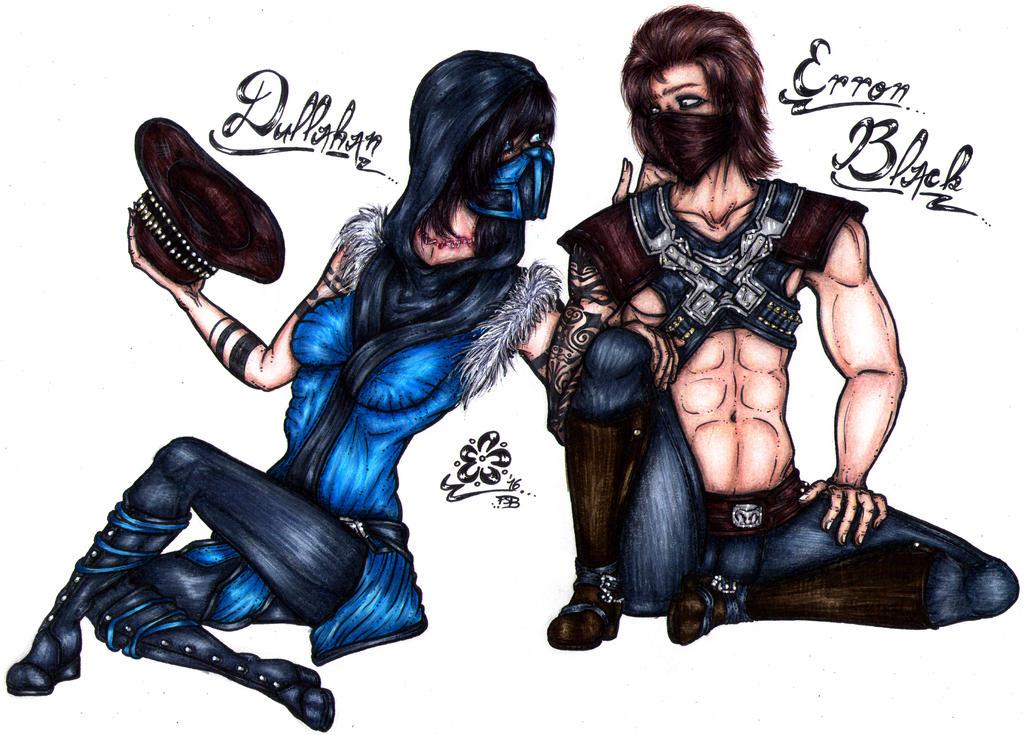 + MKX - D x E - Got your hat, mercenary! + by Princess-Flopy-13