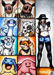 + Pokemon Trainer - Flo's Team + by Princess-Flopy-13