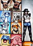 + Pokemon Trainer - Flo's Team + by Princess-Flopy-13