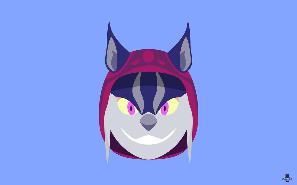Minimal wallpaper lynx asuri by hatterkiller on deviantart for Deviantart minimal wallpaper