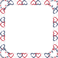 Square Frame red white blue 1 by happyare