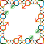 Square Frame Tropical 8