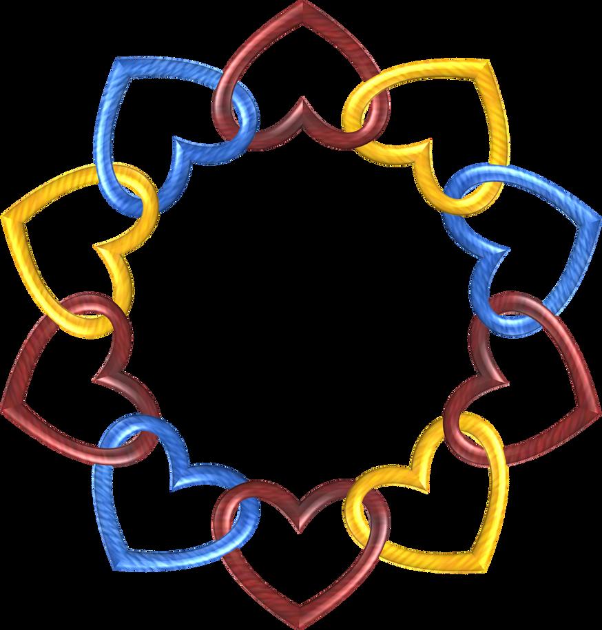 Circle 10 Trek hearts2 by happyare