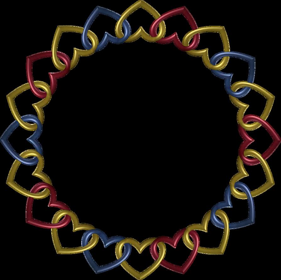Circle 20 Trek hearts by happyare
