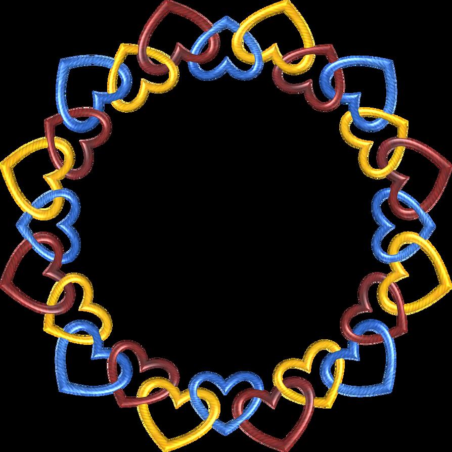 Circle 24 Trek hearts3 by happyare