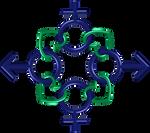 Circle 8 green indigo infinity gender hearts 1