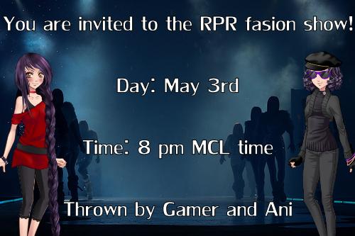 Fashion show invite by happyare