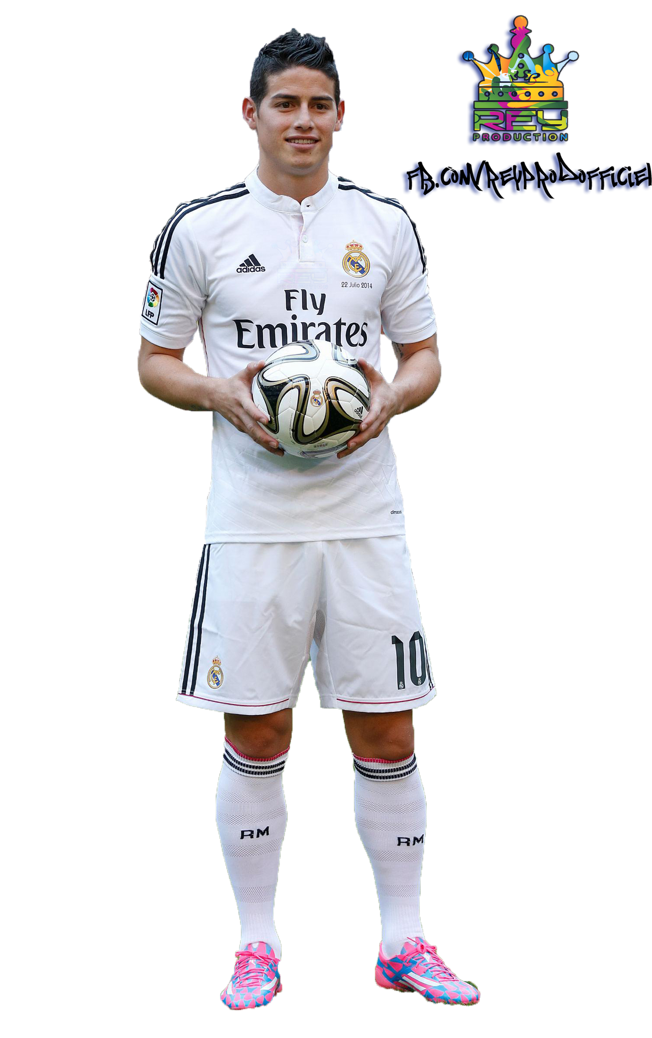 James Rodriguez - Render Pack Real Madrid - Rey by ReyProduction on ...